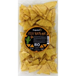 TORTILLA CHIPS MAÏS NATURES 200GRS