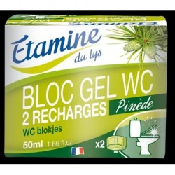 BLOC GEL WC RECHARGE (2) 50ML