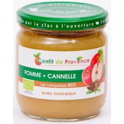 COMPOTE POMME CANNELLE MORCEAUX 430 GRS