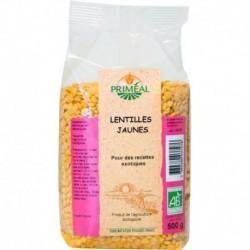 LENTILLES JAUNES 500GRS
