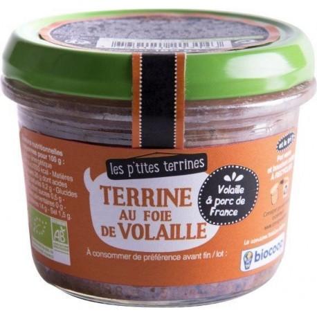 TERRINE FOIE DE VOLAILLE 180 GRS