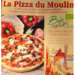 PIZZA LEGUMES GRILLEES GORGONZOLLA 380GR
