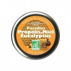 PASTILLE PROPOLIS MIEL EUCALYPTUS 45 GRS