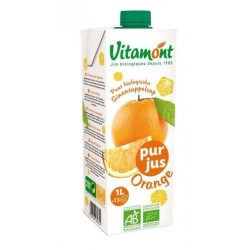 JUS D'ORANGE TÉTRA 1L
