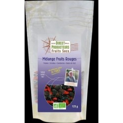 MÉLANGE FRUIT SEC FRUITS ROUGES 125G