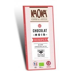 CHOCOLAT NOIR 58% SIMPLY DARK 80GRS