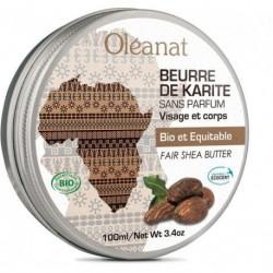 BEURRE DE KARITÉ SANS PARFUM 100ML