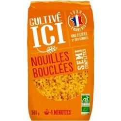 NOUILLE BOUCLE 1/2 COMPLET 500G 100% FRANCE