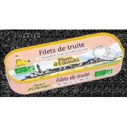 TRUITE FILETS HUILE OLIVE ET CITRON 130G