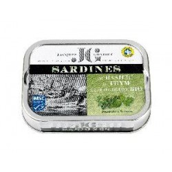 SARDINE BASILIC THYM 87G