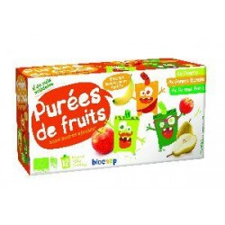 PUREE DE FRUIT PANACHE GOURDE 12X90G