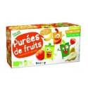 PUREE DE FRUIT PANACHE GOURDE 12X90G