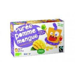 PUREE POMME MANGUE GOURDE 6X90G