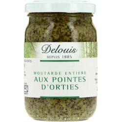 MOUTARDE DIJON DOUCE POINTES ORTIES 200G