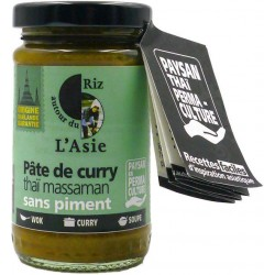 PÂTE DE CURRY THAÏ MASSAMAN 100G