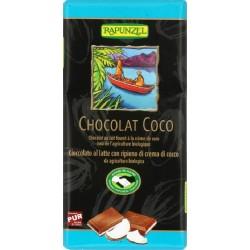 CHOCOLAT LAIT ET COCO 100G