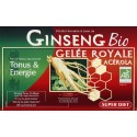 GINSENG ACEROLA GELEE ROYALE 20 AMPOULES