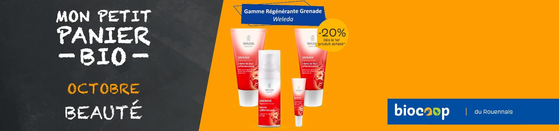 Gamme Régénérante Grenade Weleda