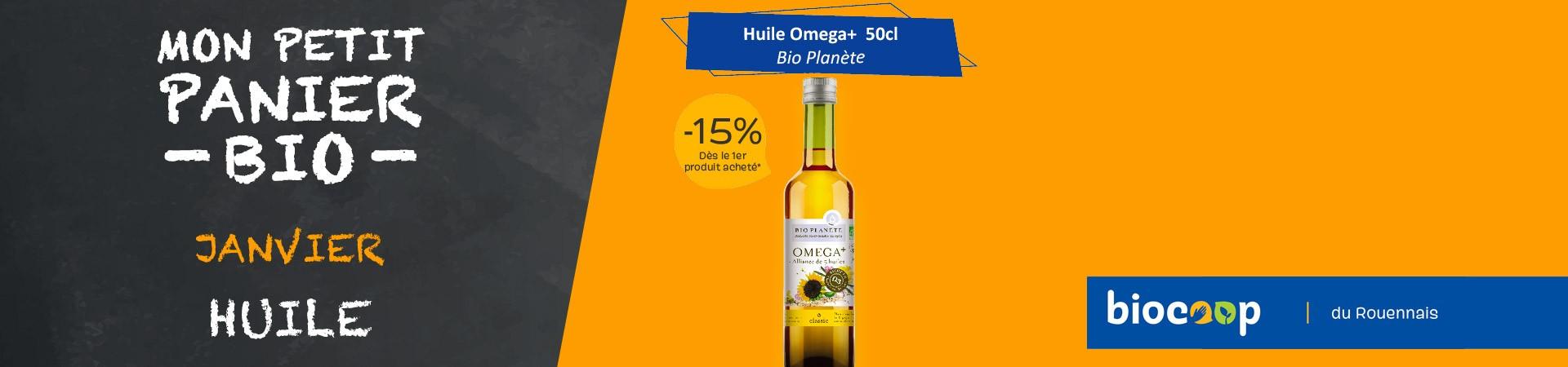 Huile Omega+ Bio Planete